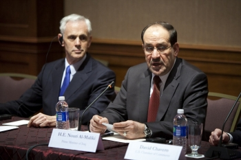 Bryson, al-Maliki promote trade (photo: U.S. Chamber of Commerce)