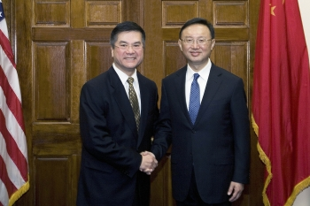 Secretay Locke and Minister Yang