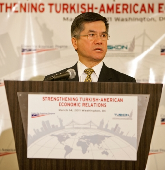 Secretary Locke Delivers a Keynote on Strengthening Turkish-American Economic Relations