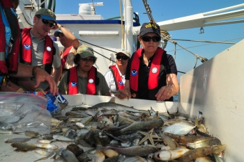 Dr. Lubchenco Oversees Seafood Sampling After the Deepwater Horizon Spill