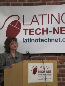 Anna Gomez Addresses the Latin Tech-Net Initiative