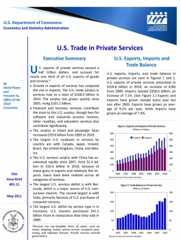 "Report on ""U.S. Trade in Private Services."""