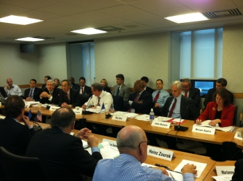 Secretary Bryson joins his Cabinet colleagues and senior European Officials at the TEC meeting