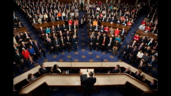 View of Joint Session from birds-eye view (White House photo)
