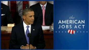 Image of President Obama and AJA logo