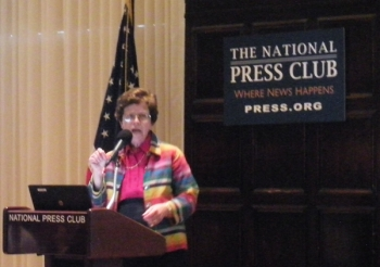 Deputy Secretary Blank speaks on innovation at National Press Club