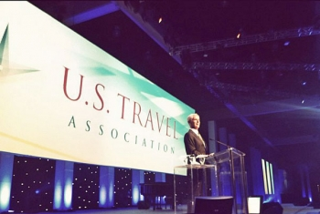 Secretary Bryson Speaking at the U.S. Travel Association's International Pow Wow