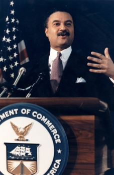 Photo of the late Secretary of Commerce Ron Brown