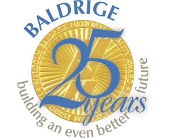 Logo: Baldrige Program Celebrates 25 Years of Performance Excellence