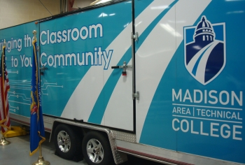 "Image of a ""truck classrom"": Bringing the Classroom to the Community"