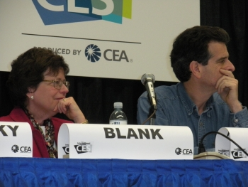 Acting Deputy Secretary Blank and Dean Kamen Listen on a Panel