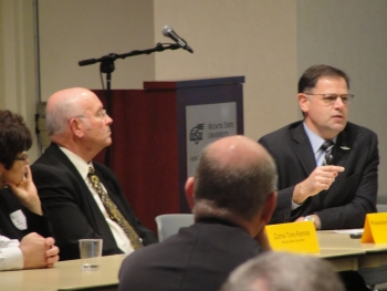 Assistant Secretary Fernandez participates in roundtable discussion at Wichita State University