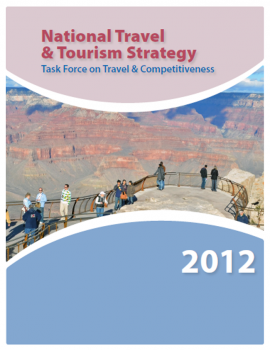 Report cover: National Travel and Tourism Strategy