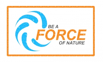 Be a force of nature logo