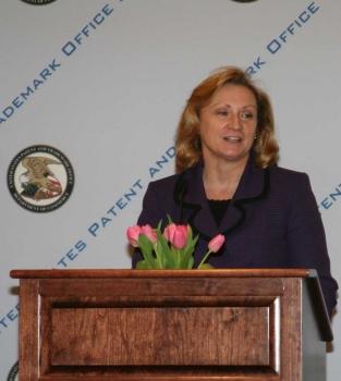 Teresa Rea on podium