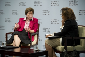 Acting U.S. Commerce Secretary Rebecca Blank Answers Questions After Her Remarks at the Council on Foreign Relations