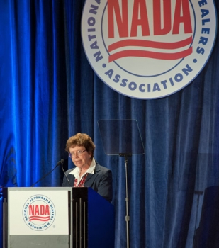 Acting Secretary Blank Addresses the National Association of Auto Dealers