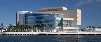 The new NSU Center of Excellence for Coral Reef Ecosystem Research in Hollywood, Fla. (Photo: Nova Southeastern University)