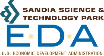 Sandia Science & Technology Park and Economic and Development Agency logos