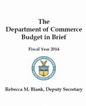 Budget request cover