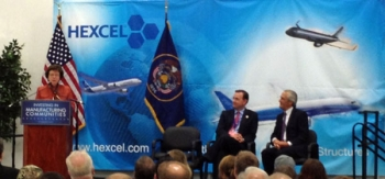 "Deputy Secretary Blank Highlights ""Investing in Manufacturing Communities Partnership"" Initiative at Hexcel Corporation"