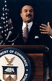 Secretary of Commerce Ron Brown