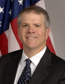 Official Portrait of Bruce H. Andrews, Chief of Staff