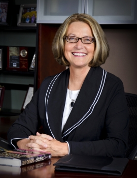 Mary Vermeer Andringa, President and CEO of Vermeer Corporation in Pella, Iowa
