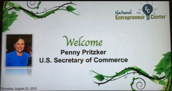 National Entrepreneur Center Welcomes Secretary Penny Pritzker