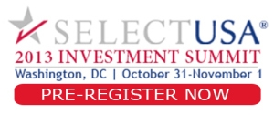 SelectUSA 2013 Investment Summit Logo