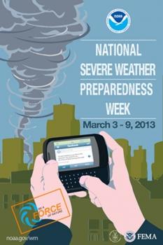 WWeather Preparedness Week logo