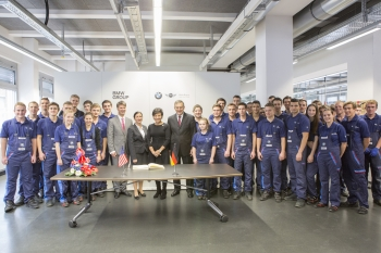 Groupf photo of Pritzker and apprentice training program students