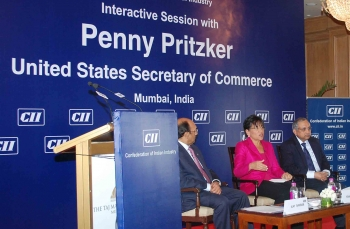U.S. Secretary of Commerce Penny Pritzker Makes First Official Trip to India for U.S.-India Strategic Dialogue