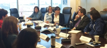 Secretary Pritzker meeting with CEOs representing the Alaska Native Corporations