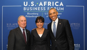 Secretary Pritzker Joins Mayor Bloomberg and President Obama at the U.S.-Africa Business Forum