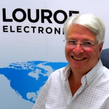 Richard Brent, CEO of Louroe Electronics
