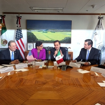 Secretary Pritzker meeting with Mexico Secretary of Economy IIdefonso Guajardo Villarreal