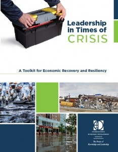 EDA and the International Economic Development Council Create User-Friendly Tool to Help Economies Recover after Disasters