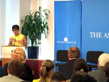 U.S. Secretary of Commerce Penny Pritzker Talks About Training a Modern Manufacturing Workforce