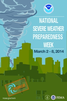NOAA Encourages Businesses and Organizations to Become Weather-Ready Nation Ambassadors During National Severe Weather Preparedness Week