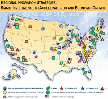 Regional Innovation Strategies Map