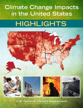 Cover of the third U.S. National Climate Assessment report