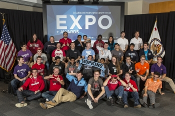 Young Entrepreneurs Showcase Ideas at Collegiate Inventors Competition