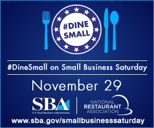 #DineSmall on Small Business Saturday Night