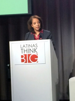 MBDA National Director Alejandra Castillo speaks at the Latinas Think Big Conference