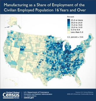 Census Bureau Completes Release of All 364 Manufacturing Reports from Economic Census Industry Series