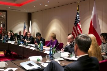 Secretary Pritzker Hosts Innovation Roundtable with Polish Industry Leaders and Startups
