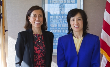 Deputy Under Secretary of Commerce for Intellectual Property and Deputy Director of the USPTO Michelle K. Lee  in Geneva