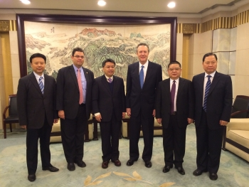 GC Welsh travels to China