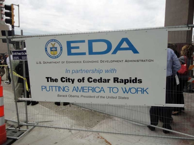 Commerce's EDA partners with the city of Cedar Rapids